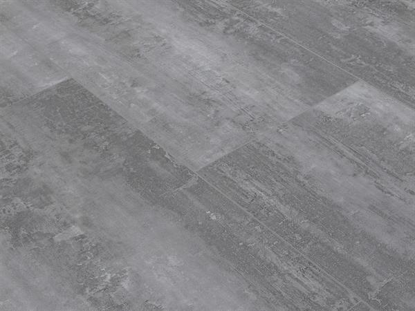 Klick Vinyl Fliesenoptik XL, Check one Rheinpreußen Beton, 4,0 x 830 x 450 mm, Kanten gefast, Nutzungsklasse 23/31, Nutzschicht 0,3 mm, mit stabiler RIGID Vinyl Trägerplatte