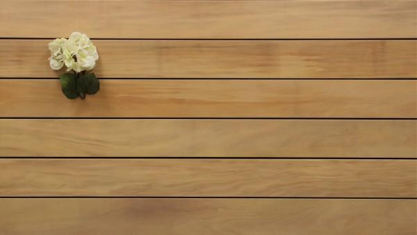 Angebot des Monats, Terrassendielen Garapa Premium (KD) 21 x 145 bis 6100 mm, glatt für 8,90 €/lfm