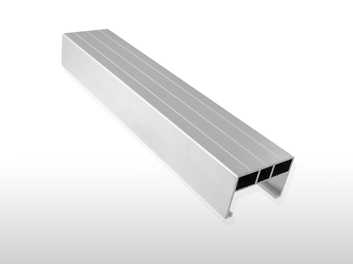 Aluminium Unterkonstruktions-Profil ca. 38 x 58 x 4000 mm für 6,90 €/m