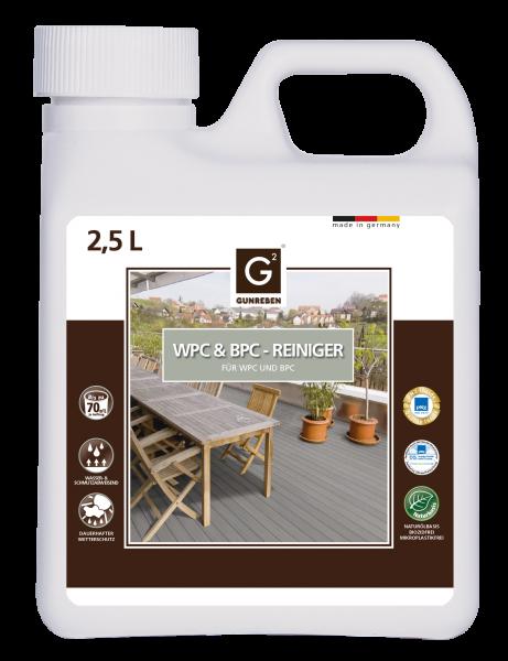 2,5 Liter Gunreben WPC Reiniger empfohlen für ca. 20-40 m²