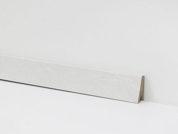 Check Vinyl Sockelleiste Nr. 5109 mit 18 x 58 x 2400 mm abgestimmt zum Dekor Rheinbaben Beton
