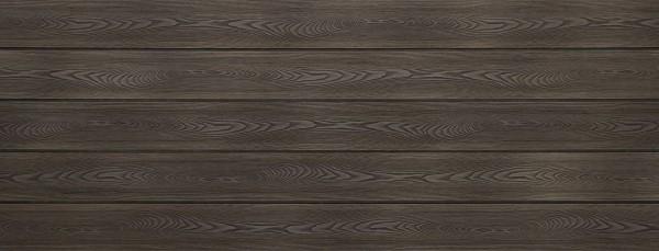 WPC Dielen massiv, Oberfläche mit Struktur in Holzoptik, bicolor im Farbton Thermoesche, Vollprofil, 22 x 143 bis 4800 mm für 8,40 €/lfm