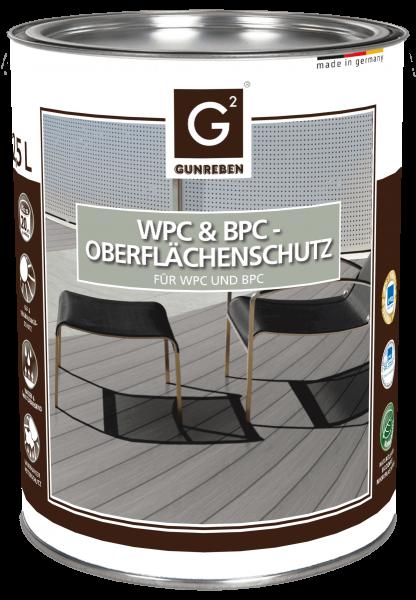 WPC Imprägnier-Öl farblos von Gunreben, Kanister mit 2,5 Liter für ca. 20-40 m²