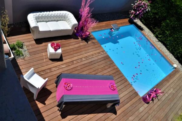 Restposten Terrassendielen Marfil Premium (KD) 21 x 145 bis 6100 mm, glatt für 6,90 €/lfm