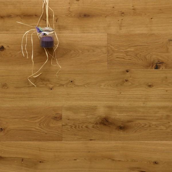 Parkett Eiche Avignon aus der Serie Provence, mit WOCA Naturöl geölt, Välinge 5G Klick Verbindung, Sonderanfertigung nach Kundenwunsch, 14 x 190 (220) x 1900 (2200) mm