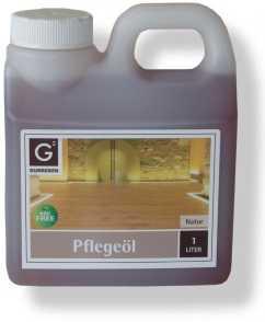 1,0 Liter Gunreben Pflegeöl natur, zur Ersteinpflege geölter Holzböden