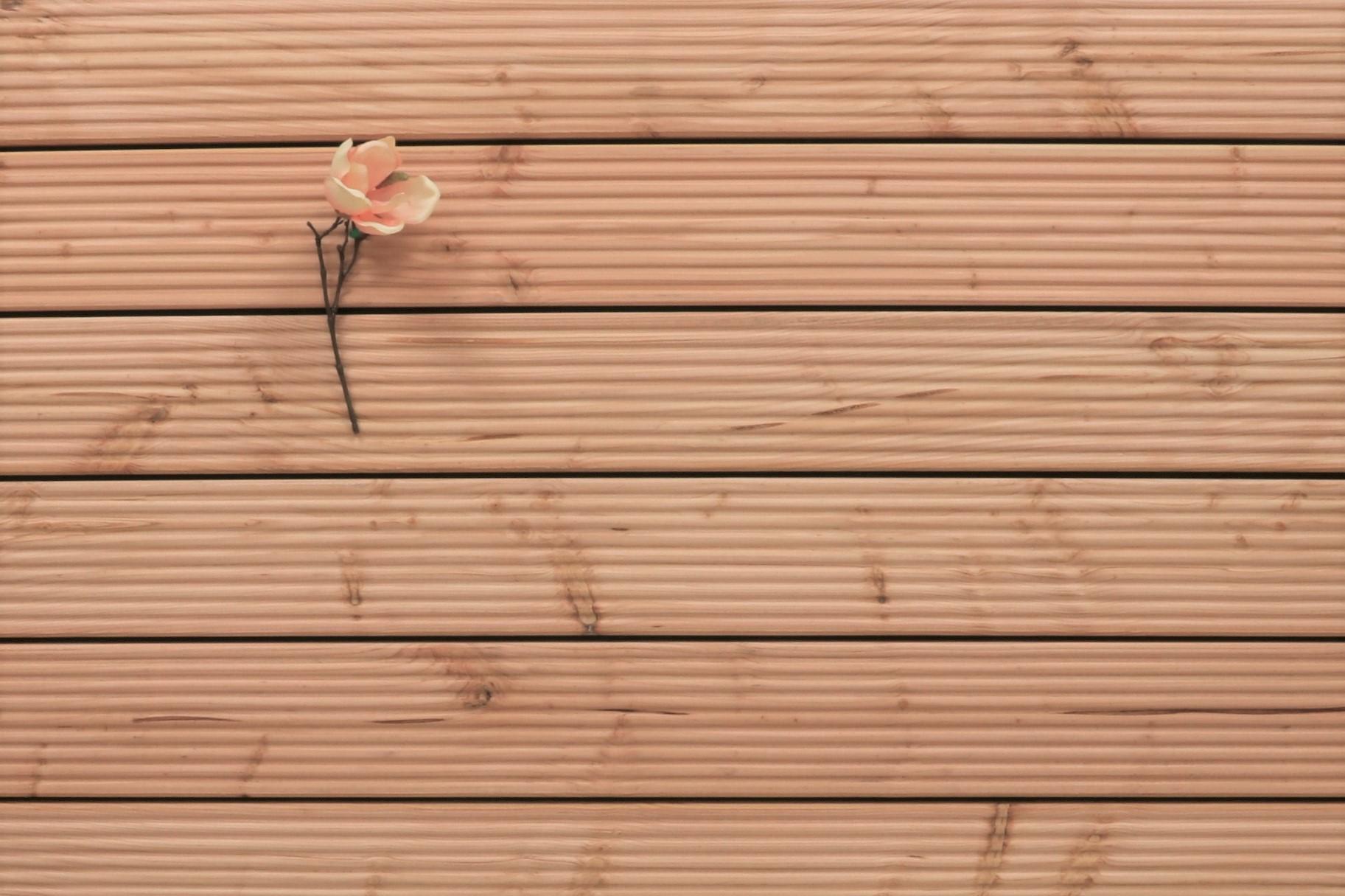 Douglasie Holz Dielen für die Terrasse, 5,95 €/lfm, grob genutet, 26 x 145 bis 5000 mm, Terrassendielen Bretter