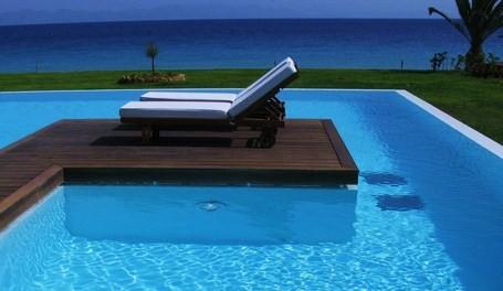 Terrassendielen Thermoesche Premium (KD) 21 x 130 von 1800 bis 3000 mm, glatt, stirnseitig Nut / Feder Verbindung für 9,95 €/lfm