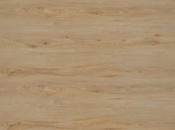 Klick Vinyl mit integrierter Trittschalldämmung, MEFO FLOOR Breitdiele Aquamarin, 6,5 x 228 x 1524 mm, Kanten gefast, Nutzungsklasse 33/42, Nutzschicht 0,5 mm, in Holzoptik mit SPC Trägerplatte