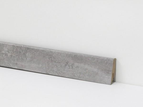 Check Vinyl Sockelleiste Nr. 5107 mit 18 x 58 x 2400 mm abgestimmt zum Dekor Rheinpreußen Beton