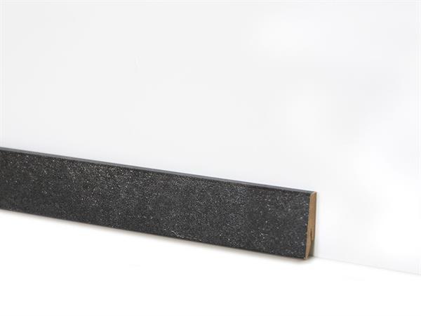 Check Vinyl Sockelleiste Nr. 2120 mit 18 x 58 x 2400 mm abgestimmt zum Dekor Borbeck Schiefer