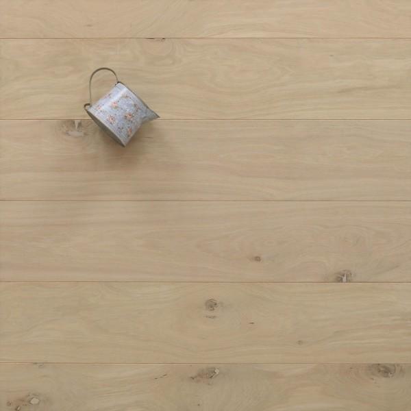 Schlossdielen Eiche, 21 x 180 / 200 mm von 2600 bis 5000 mm, aus massivem Holz, Abmessungen nach Ihren Vorgaben, roh bzw. unbehandelte Oberfläche, Kanten gefast, Nut / Feder Verbindung, Sonderanfertigung nach Kundenwunsch