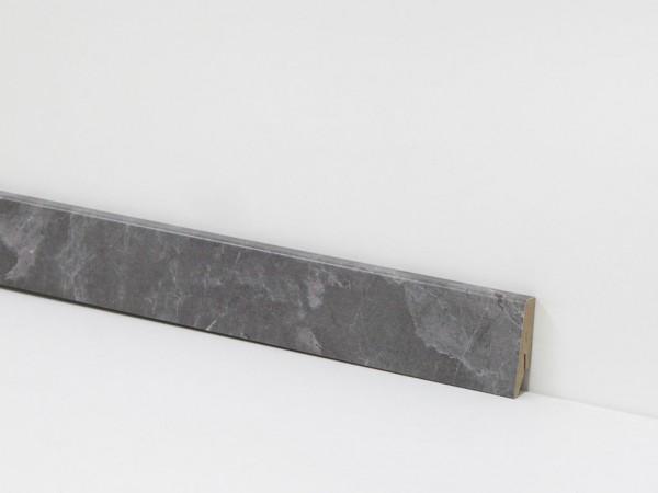 Check Vinyl Sockelleiste Nr. 2103 mit 18 x 58 x 2400 mm abgestimmt zum Dekor Lohberg Schiefer
