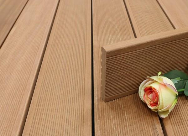 Terrassendielen Bangkirai Premium (KD) 25 x 145 x 3970 mm, fein gerillt für 8,50 €/lfm
