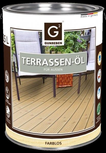2,5 Liter Natur Öl von Gunreben, Terrassenöl ausreichend für ca. 20-25 m²