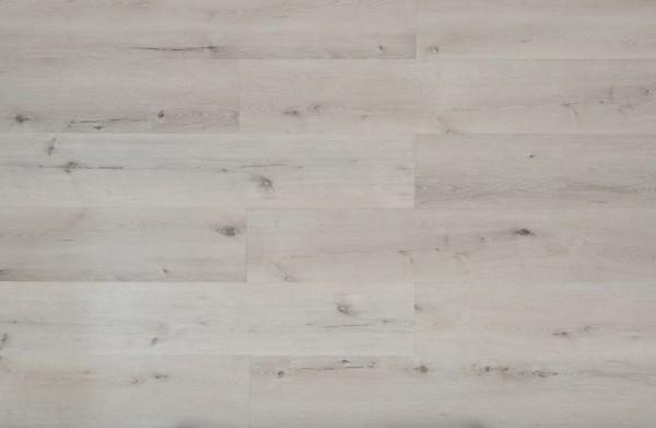 Klick Vinyl mit integrierter Trittschalldämmung, MEFO FLOOR Breitdiele Opal, 6,5 x 228 x 1524 mm, Kanten gefast, Nutzungsklasse 33/42, Nutzschicht 0,5 mm, in Holzoptik mit SPC Trägerplatte