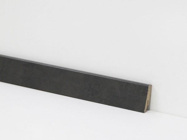 Check Vinyl Sockelleiste Nr. 2869 mit 18 x 58 x 2400 mm abgestimmt zum Dekor Eiberg Schiefer
