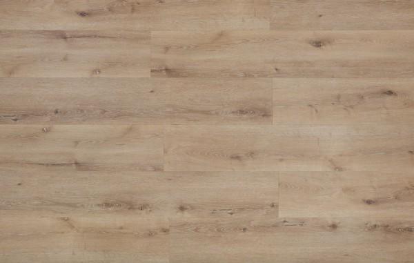 Klick Vinyl mit integrierter Trittschalldämmung, MEFO FLOOR Breitdiele Saphir, 6,5 x 228 x 1524 mm, Kanten gefast, Nutzungsklasse 33/42, Nutzschicht 0,5 mm, in Holzoptik mit SPC Trägerplatte