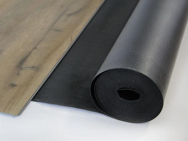 Gunreben Vinyl Akustik Silent Trittschalldämmung 1,5 mm inkl. Dampfbremse Rolle mit 10 m²