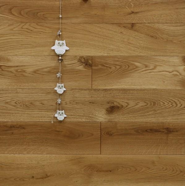 Holzdielen Eiche, mit Rubio Monocoat R101 geölt, Systemlängen, massiv, Kanten gefast, Nut / Feder Verbindung, Sonderanfertigung nach Kundenwunsch