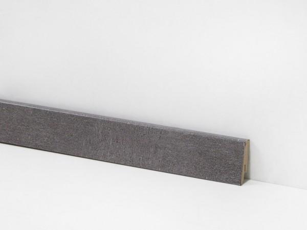 Check Vinyl Sockelleiste Nr. 2114 mit 18 x 58 x 2400 mm abgestimmt zum Dekor Westende Travertin