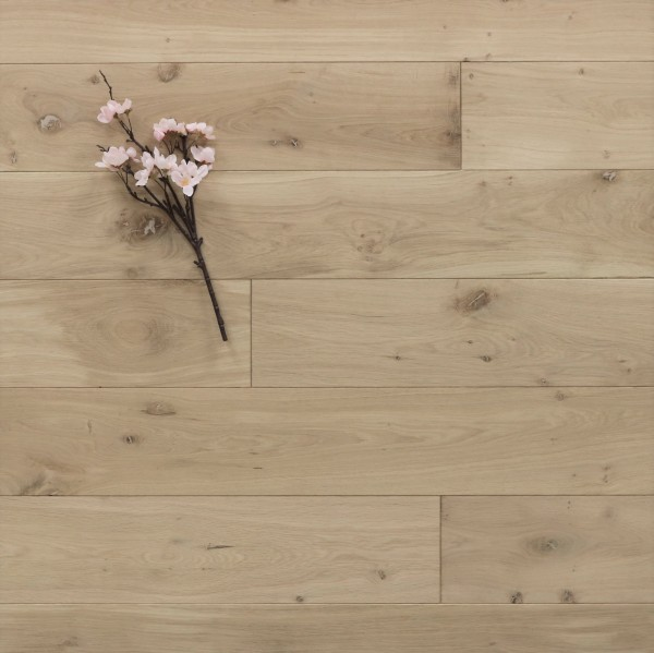 Holzdielen Eiche, roh bzw. unbehandelte Oberfläche, 15 x 150 mm, Systemlängen von 400 bis 1800 mm, massiv, Kanten gefast, Nut / Feder Verbindung, Sonderanfertigung nach Kundenwunsch