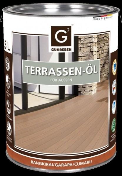 2,5 Liter Garapa Öl von Gunreben, Terrassenöl ausreichend für ca. 20-25 m²