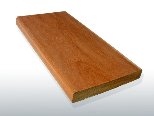 Angebot des Monats, Terrassendielen Garapa Premium (KD) 21 x 145 bis 6100 mm, glatt für 6,90 €/lfm