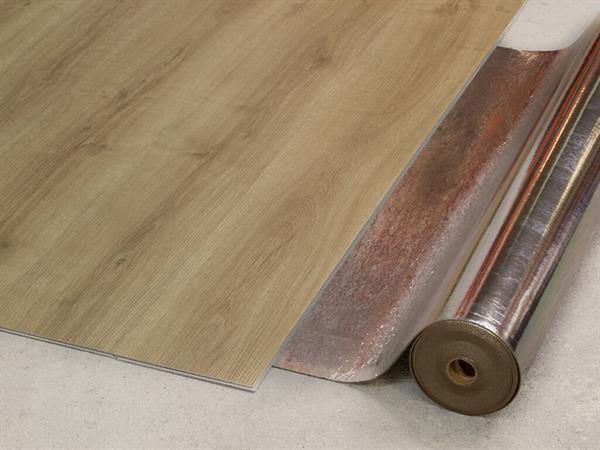 Check Vinyl Premium Sound 1,8 mm Trittschalldämmung Rolle mit 8,5 m²