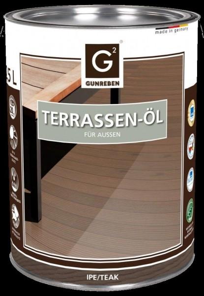 2,5 Liter Ipe Öl von Gunreben, Terrassenöl ausreichend für ca. 20-25 m²