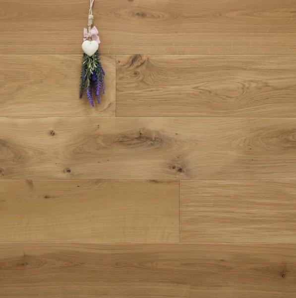 Parkett Eiche Cassis aus der Serie Provence, mit WOCA Naturöl leicht weiß geölt, Välinge 5G Klick Verbindung, Sonderanfertigung nach Kundenwunsch, 14 x 190 (220) x 1900 (2200) mm