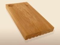 Terrassendielen Douglasie, 26 x 143 bis 6000 mm, fein gerillt für 3,70 €/lfm
