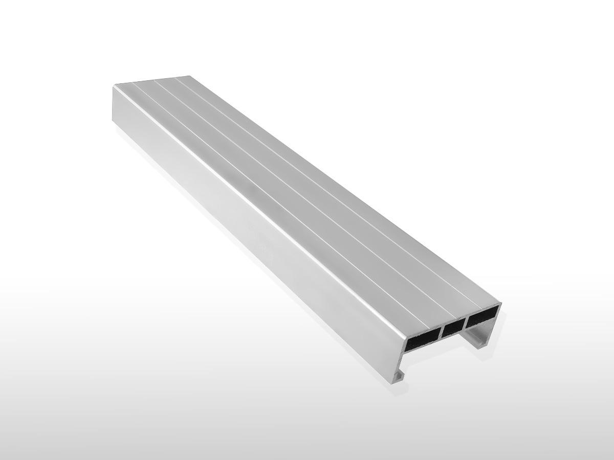 Alu Unterkonstruktion für den Terrassenbau ca. 24 x 58 x 4000 mm für 7,90 €/m