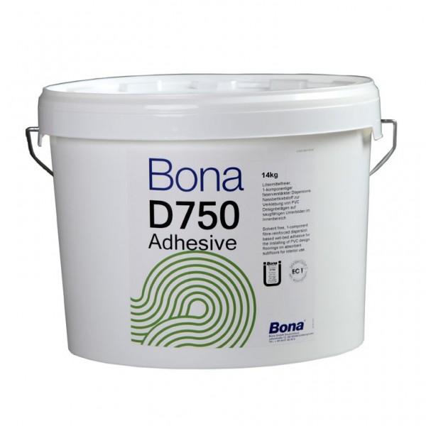 Bona D750 Eimer mit 14 Kg Vinylkleber und Designbelagsklebstoff