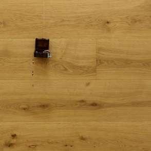 Schlossdielen Eiche König Ludwig, 15 x 250 x 2200 mm, Mehrschicht Aufbau, gebürstet, extrem matt lackiert, Kanten gefast, Nut / Feder Verbindung