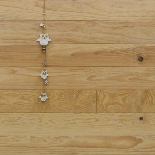 Holzdielen Pitch Pine, Natur, 20 x 135 mm, Längen von 2500 bis 6100 mm, optional in Fixlänge, Kanten gefast, Nut / Feder Verbindung, Sonderanfertigung nach Kundenwunsch