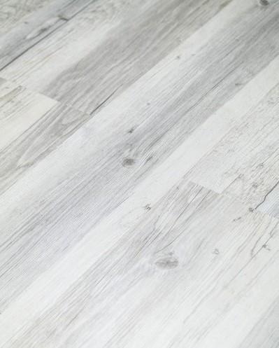Klick Vinyl mit integrierter Trittschalldämmung, Futura Floors Nottingham, 6,5 x 175 x 1210 mm, Kanten gefast, Nutzungsklasse 33/42, Nutzschicht 0,5 mm, in Holzoptik mit stabiler SPC Vinyl Trägerplatte